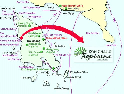 Отель Koh Chang Tropicana Resort & Spa
