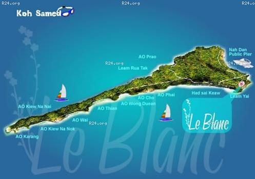 Отель Le Blanc Samed Resort на острове Самет